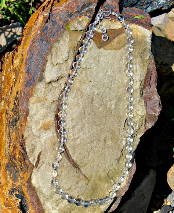 High Grade Clear Quartz Necklace