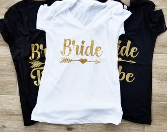 Bride Shirt-Bride Tribe-Personalized T Shirt-Bridal Party shirt-Bachelorette  Shirt-Bride Tribe Shirt-.Wedding Shirt-Wedding Gifts-Bridesmaid 7d32d3345