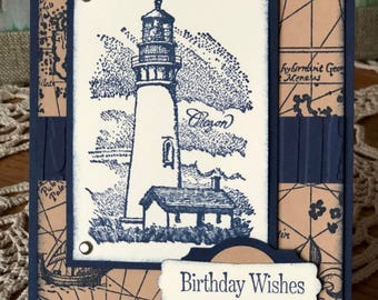 Birthday - Stampin Up! LightHouse