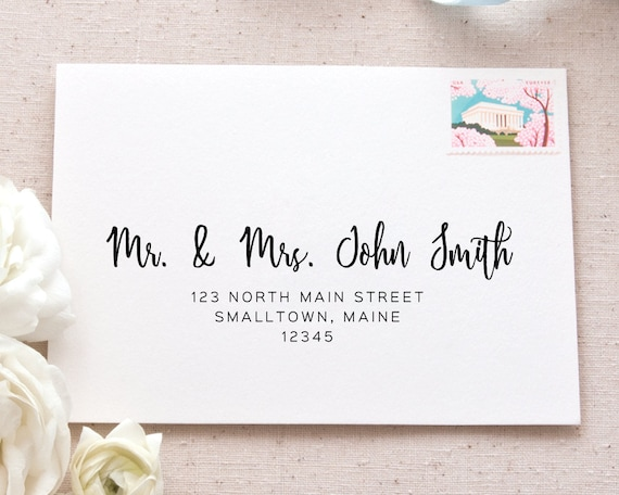 picture regarding Printable Labels for Wedding Invitations identify Passionate Calligraphy Cover Label Package deal Printable Mailing Protect Labels for Marriage Invites and Bulletins