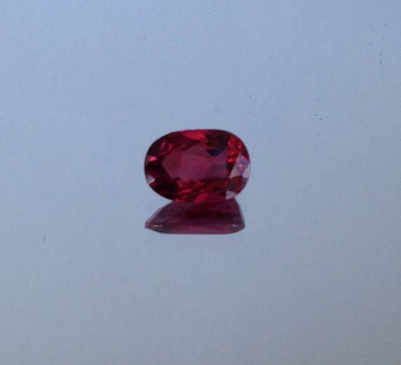 Natural 6x4 Emerald Cut .68ct Quality Pink Topaz AAA