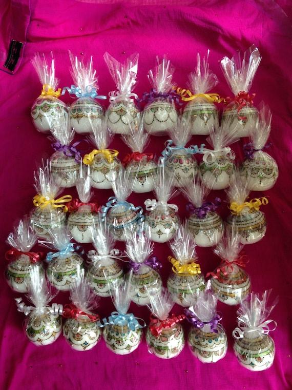 Set Of 30 Candles Wedding Table Decor Wedding Favours Etsy