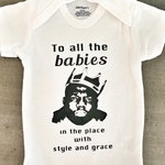 Notorious BIG Biggie Smalls Onesie - Big Poppa - B.I.G - Organic Cotton Onesie for stylish baby - great shower gift - rap song lyrics