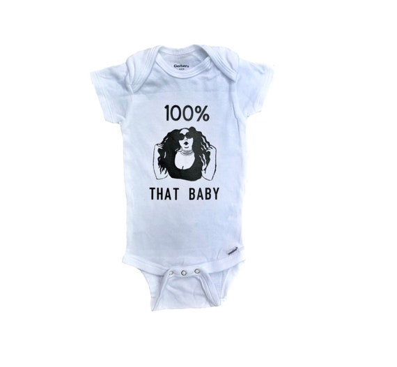 Baby Romper Snapsuit Gift. Bodysuit I/'m With The Band Cotton Music Rock