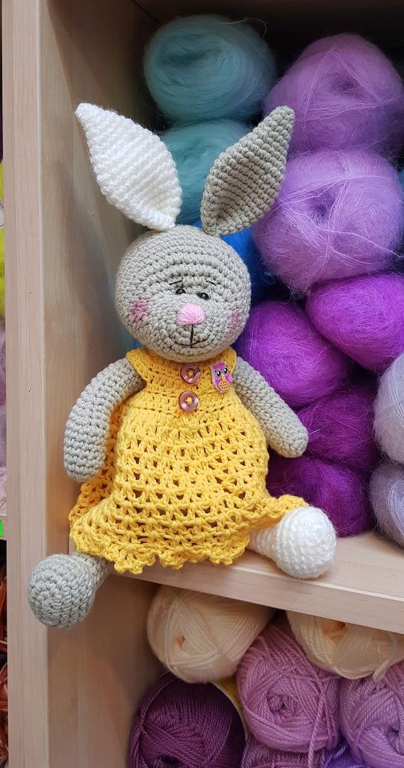 Paashaas Haak Gebreid Konijn Amigurumi Bunny Bunny Pasen Etsy