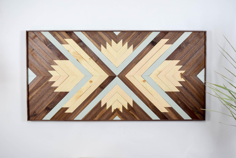 Ananda Wood Wall Art Wooden Wall Art Geometric Wood Art Wooden Wall Art Modern Wood Art Boho Wood Art Wood Wall Decor
