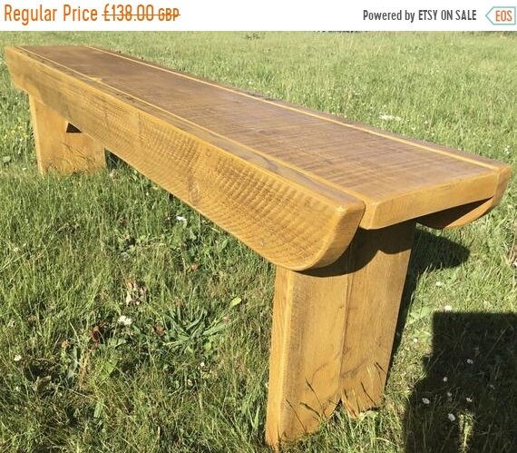 Summer Sale NEW! Golden Oak Old School Antique Rustic Solid Reclaimed Pine Dining Plank Table Chair Bench - Village Orchard Furniture