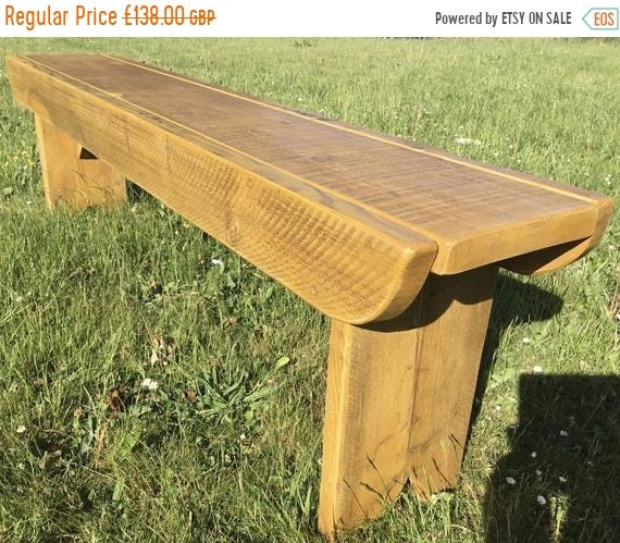 8 SALE 8 NEW! Golden Oak Old School Antique Rustic Solid Reclaimed Pine Dining Plank Table Chair Bench - Village Orchard Furniture
