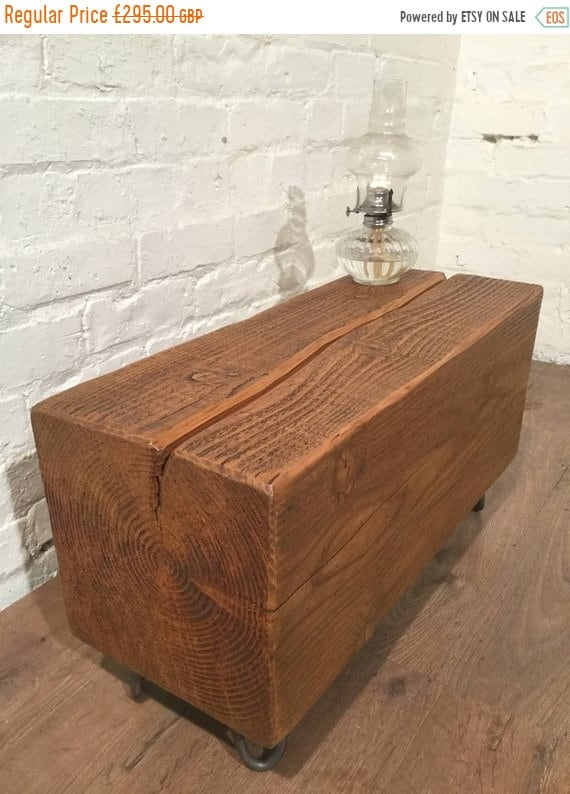 Sale Douglas Fir Tree Trunk HairPin Legs Reclaimed Vintage 1900u0027s Solid  Wood Bench Coffee Table   Only This One!   Village Orchard Furniture