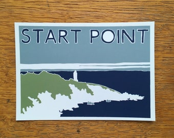 START POINT POSTCARD - Pack of 5