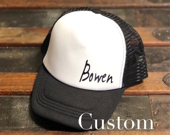 64b5d858717 Personalized    Toddler    Trucker hat