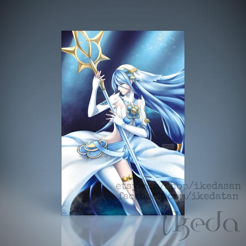 Fire Emblem Fatesheroes Azura Lady Of The Lake Etsy
