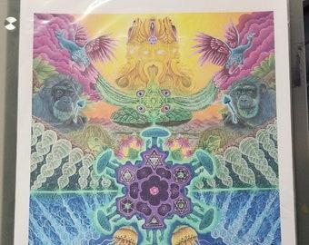 Divine Evolution LE Print /11