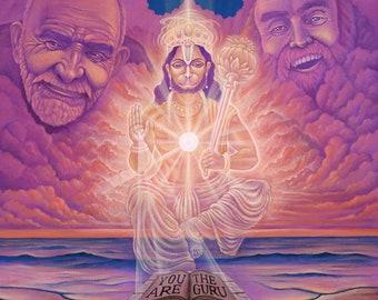 You Are The Guru, Ram Dass Archival Print