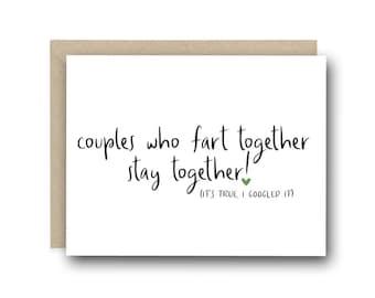 Boyfriend Cards Etsy