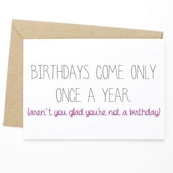 Funny Birthday Card Friend