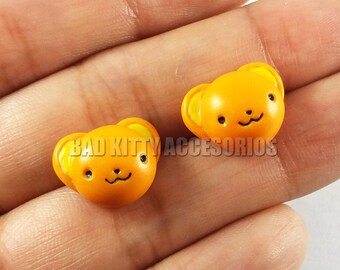 Kero Inspired Stud Earrings, Surgical Steel Posts