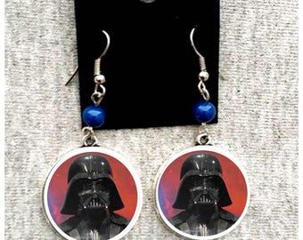 Star War Dark Vader Earring