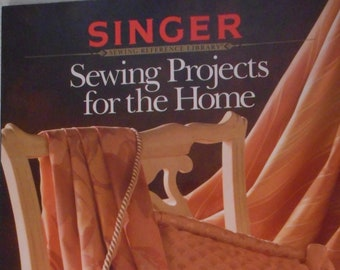 Singer Sewing Projects for the Home, softcover book, NOS