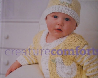 Creature Comforts, Cozy Knits for Wee Ones, By Amy Bahrt, like new book