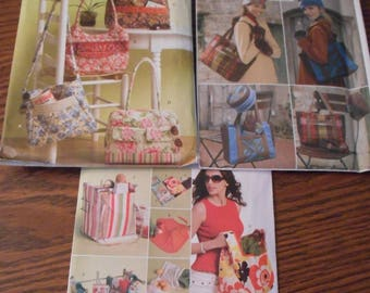New Sewing Patterns for Tote bags - Great Variety