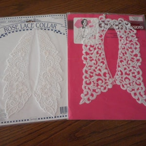 Perfect condition Your Choice Vintage Lace Dress or Sweater Collars in original packaging Collar sold Separately.