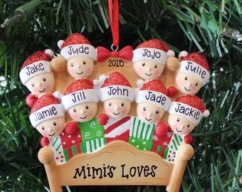 Personalized Family Or Grandchildren Ornament