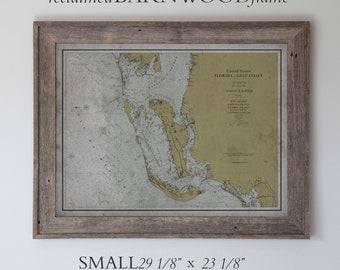 Sanibel Florida Map.Sanibel Map Etsy