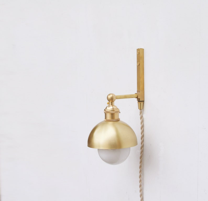 Plug-in  wall sconce Light Minimalist Wall Sconce Light image 0