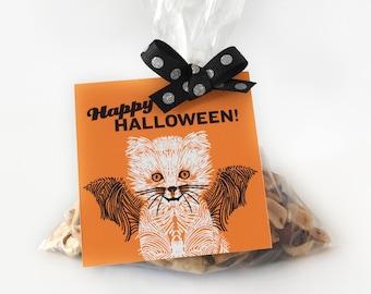 Halloween tags printable, Halloween gift tags printable, Halloween favor tags printable, Halloween tags download, treat tags, hang tags