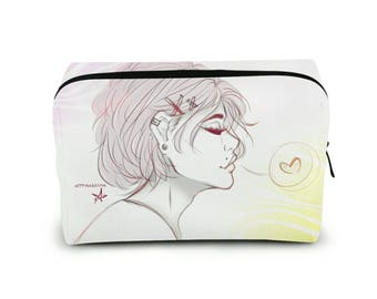 Sweetheart Square Cosmetic Bag