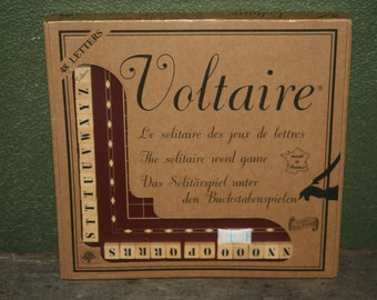 Voltaire - The Solitaire Word Game by Guy Jeandel 1995 EDITION