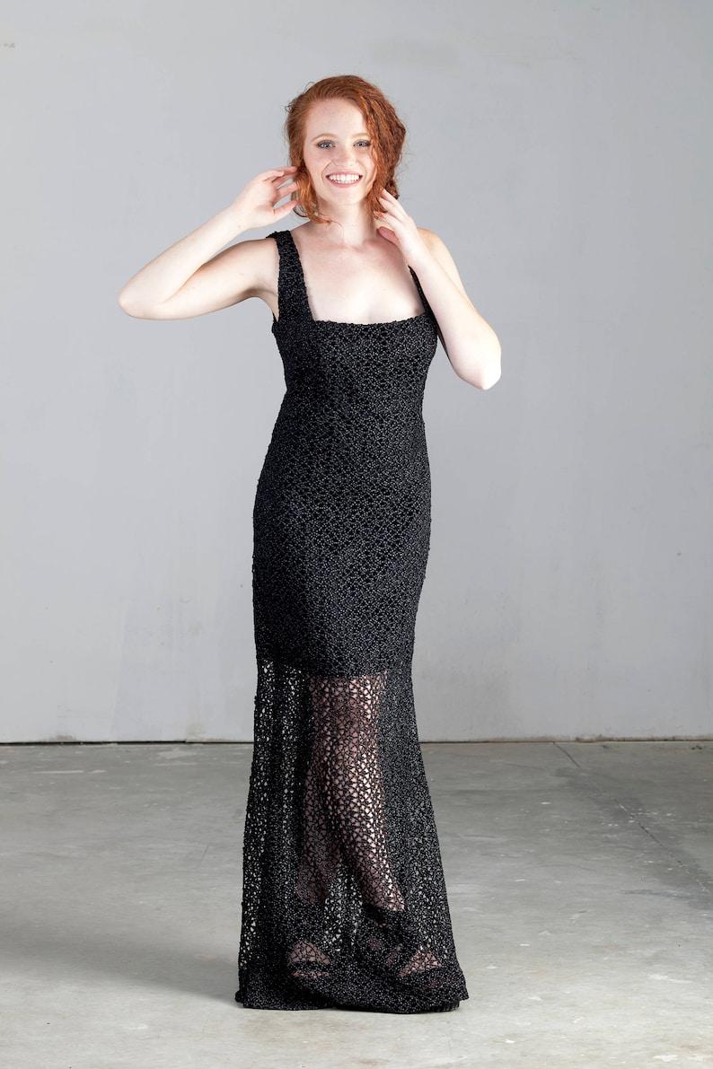 b70809961c Black And White Evening Maxi Dresses