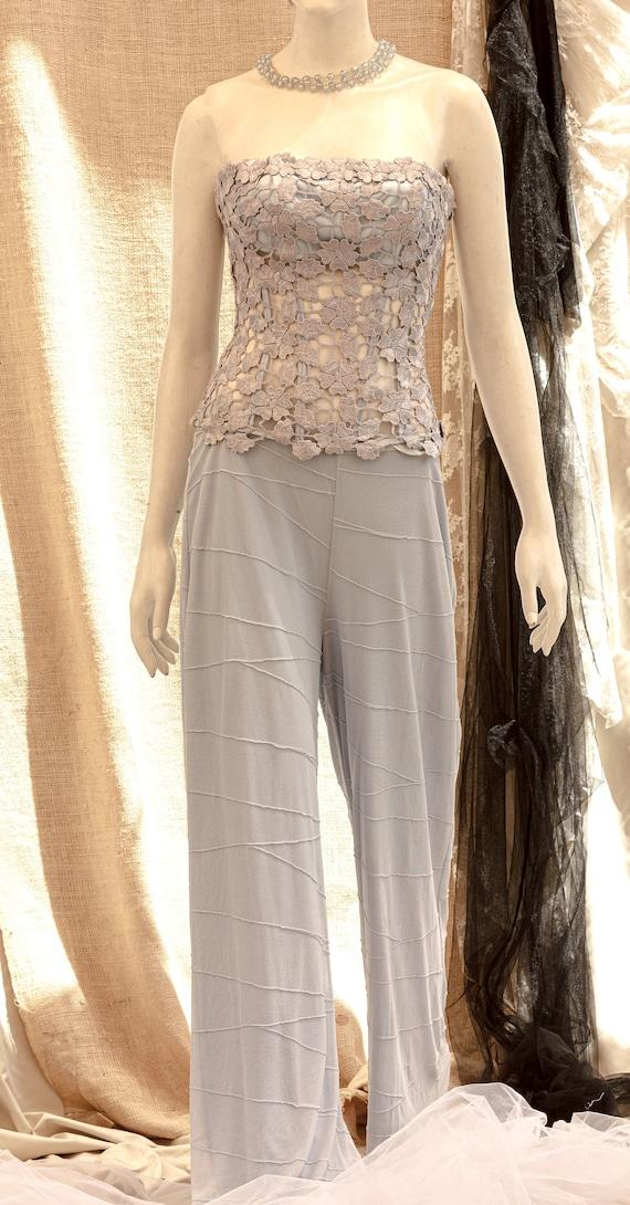 Lace Corset, Strapless Wedding Corset, Wedding To… - image 7