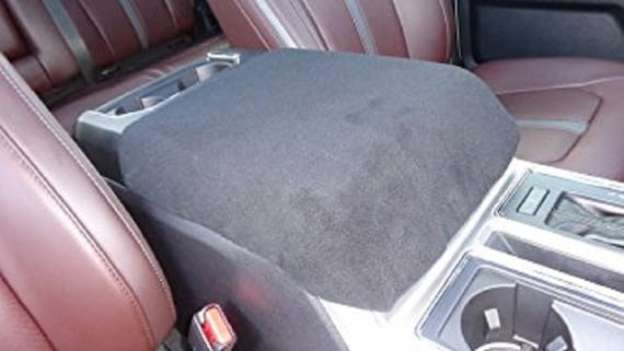 Fits Ford 2004 18 F150 F250 Center Console Cover Black Only Fits Console Shown For Perfect Fit