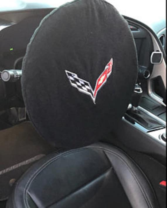C7 Corvette Embroidered Steering Wheel Cover Towel
