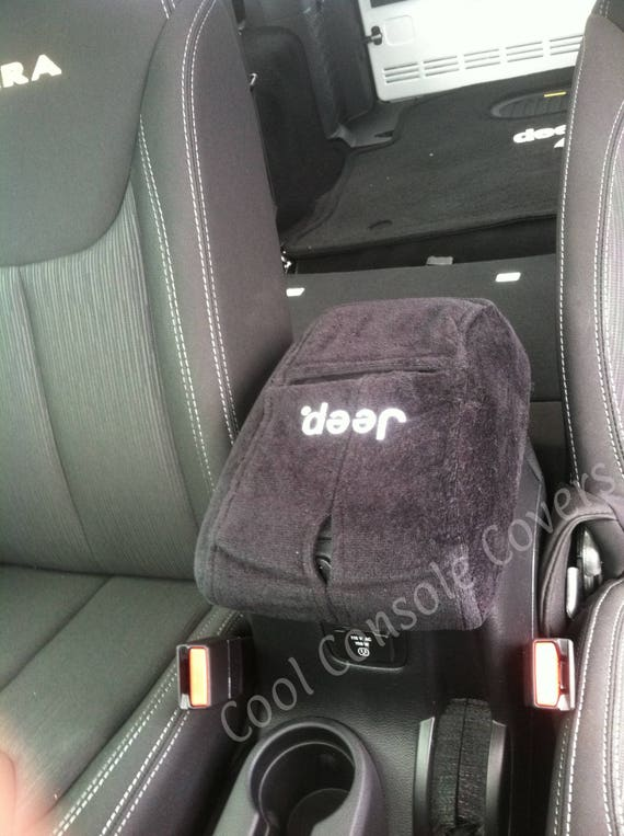 Red Jeep Logo Neoprene Center Console Armrest Pad Cover With Dog Paw Paws Print logo for Jeep Wrangler JL Sahara Sport Rubicon X /& Unlimited 2018-2019.