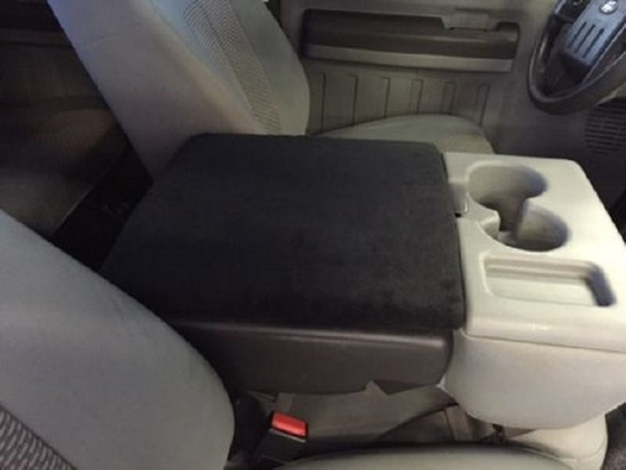 Awe Inspiring Fits Ford 2011 2018 F150 F250 Truck Fleece Center Console Cover Black Fits Seat See Picture Caraccident5 Cool Chair Designs And Ideas Caraccident5Info
