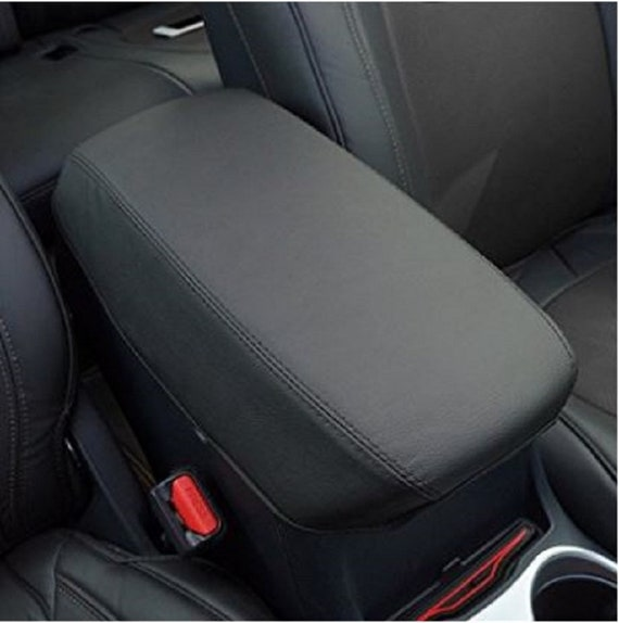 Pleasing For Dodge Durango Citadel Gt R T Sxt 2011 2019 Faux Leather Console Cover Black With Handmade Black Or Red Stitching Armrest Cover Creativecarmelina Interior Chair Design Creativecarmelinacom