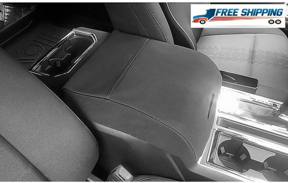 Console Lid Cover Auto Armrest Cover For Center Armrest Console F1 Black