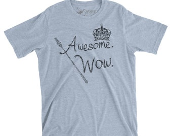 Awesome Wow Unisex Hamilton Shirt for Hamilton Musical Fan with Free Shipping, Hamilton The Musical Theatre Shirt