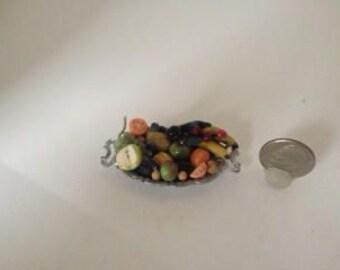 miniature fruit platter