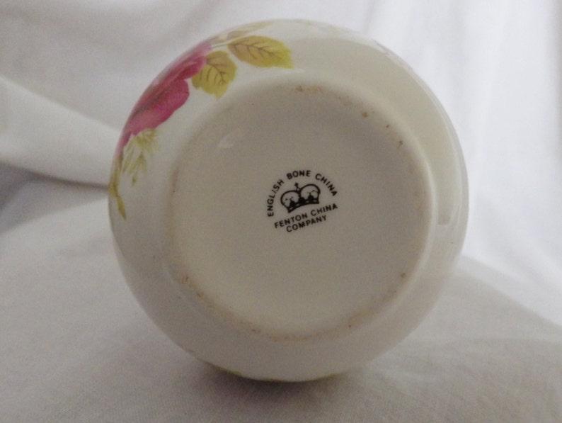 Ruby Wedding Bud Vase by the Fenton China Company