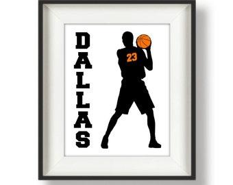 Basketball Team Gift - Basketball Senior Gift - Personalized - Basketball Player - Senior Night - Senior Gift - Basketball Gift - OrangeBall