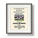 Gifts for Coaches - Coach Gifts - Thank You Coach - Cross Country - Football Coach - XC Coach -Track Coach - Basketball -  Soccer -