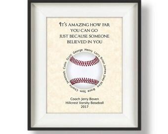 Baseball Coach Gifts Personalized Coach Gifts Baseball Coach Gift Ideas Gift From Team Gifts For Baseball Coaches Its Amazing