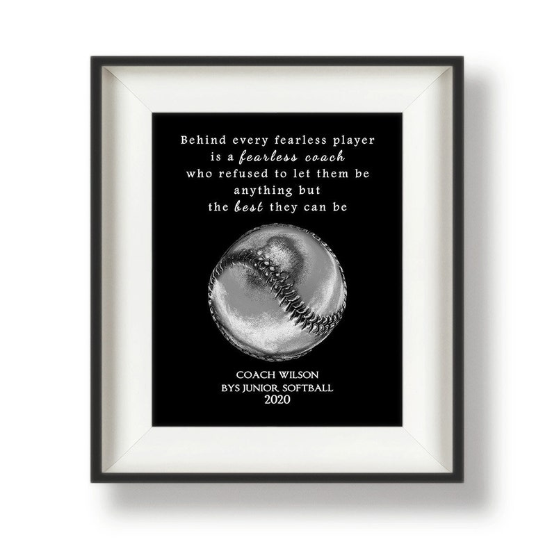 Softball Coach Gifts   Softball Gifts for Coaches  image 0