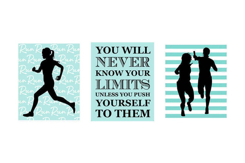 Track and Field  Graduation Gifts  Girls Room Art  Sports image 0