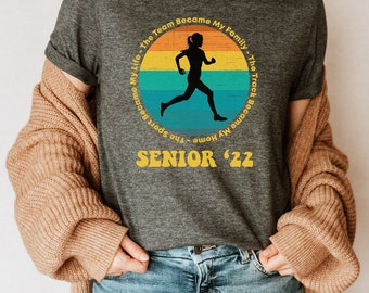 Track and Field Shirt - Senior Night Gifts - Track T-Shirt - Track Gifts - Track Girl - Track and Field T Shirt - Senior 2022