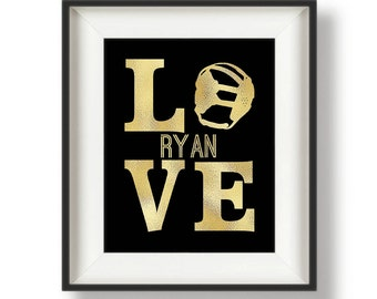 Personalized Wrestling Gifts - Gifts for Wrestlers - Wrestling Gift - Wrestling Gifts for Kids - Gifts for Athletes - Team Captain - LOVE